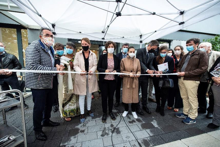 Inauguration maison urbaine de santé Strasbourg